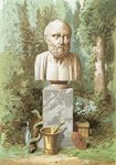 Hippocrates Wall Art & Canvas Prints by Clive Uptton