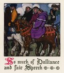 Chaucer: The Tale of the Wife of Bath Fine Art Print by Harry Green