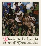 Chaucer: The Prioress' Tale Fine Art Print by Harry Green