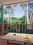 Annie's Deck in Kuranda, Queensland Australia, 2006 Fine Art Print by William Grant