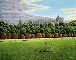 Streaking at Windsor Castle, 1988 Fine Art Print by Liz Wright