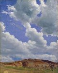 Clouds (oil on canvas) Postcards, Greetings Cards, Art Prints, Canvas, Framed Pictures, T-shirts & Wall Art by John Constable