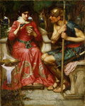 Jason and Medea, 1907 Fine Art Print by Sir Lawrence Alma-Tadema