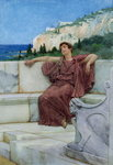 Dolce Far Niente, Fine Art Print by Sir Lawrence Alma-Tadema