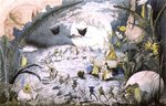 A Fairy Gathering Fine Art Print by Charles Altamont Doyle