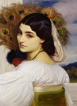 Pavonia, 1859 Postcards, Greetings Cards, Art Prints, Canvas, Framed Pictures, T-shirts & Wall Art by Frederic Leighton