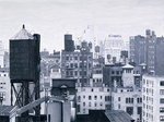 New York Water Towers, 2002 Fine Art Print by Anonymous