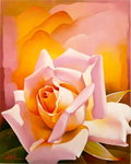 The Rose, 2003 (oil on canvas) Fine Art Print by Sarah O'Toole