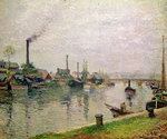 L'Ile la croix a Rouen, 1883 Fine Art Print by George, of Chichester Smith