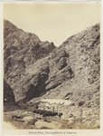 Soroo Pass, encampment of Sappers, by Royal Engineers Photographic Unit under Sergeant John Harold, 1868 Fine Art Print by Cuban Photographer