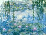 Waterlilies, 1916-19 Fine Art Print by Claude Monet