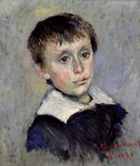 Jean Monet Fine Art Print by Mary Stevenson Cassatt