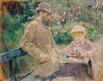 Eugene Manet Fine Art Print by Kate Perugini