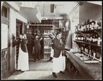 A pantry at the Hotel Manhattan, 1902 Fine Art Print by Anonymous