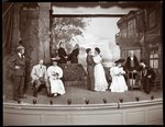 "A scene from an amateur production of a play titled ""The Butterflies"" presented at Barnard College, New York Fine Art Print by Byron Company"