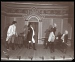 "A scene from an amateur production of ""The Rivals,"" presented at Barnard College, New York Postcards, Greetings Cards, Art Prints, Canvas, Framed Pictures, T-shirts & Wall Art by Byron Company"
