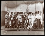 "The cast from an amateur production of a play titled ""When Mr. Shakespeare Comes to Town"" presented at Barnard College, New York Postcards, Greetings Cards, Art Prints, Canvas, Framed Pictures, T-shirts & Wall Art by Byron Company"