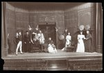 "A scene from an amateur production of a play titled ""The Royal Family"" Fine Art Print by Byron Company"