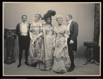 Group portrait of Mr. Barton Willing, Miss Alice Blight, Miss Eleanor Jay Fine Art Print by Byron Company