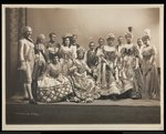 Group portrait including Edmund Lincoln Baylies Fine Art Print by Byron Company