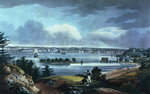New York from Heights Near Brooklyn, 1820-23 Fine Art Print by James Rattray