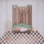 Eve Sleeping with the Tree of Wisdom, 1999 Fine Art Print by Mary Stuart
