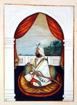 Rajah Sher Singh, from 'The Kingdom of the Punjab, its Rulers and Chiefs, volume I', a volume of 27 watercolour studies by an unidentified Indian artist, c.1840 Postcards, Greetings Cards, Art Prints, Canvas, Framed Pictures & Wall Art by Gabriel Metsu