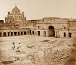 The Place in which the Gen Neil was killed in the Chinese Bazaar, Lucknow Fine Art Print by Felice Beato