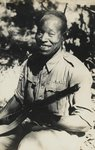 A Nigerian sergeant attached to the 5th West African Brigade, 1944 Postcards, Greetings Cards, Art Prints, Canvas, Framed Pictures, T-shirts & Wall Art by American Photographer