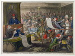 Patriotic Regeneration, -Viz.- Parliament Reform'd A la Francoise, - That Is- Honest Men Fine Art Print by James Gillray