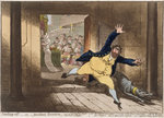 Stealing Off, or Prudent Secesion, published by Hannah Humphrey in 1798 Fine Art Print by English School