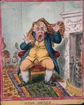 Wide Awake, published by Hannah Humphrey in 1806 Poster Art Print by James Gillray