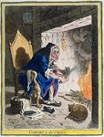 Comfort to the Corns, published by Hannah Humphrey in 1800 Wall Art & Canvas Prints by James Gillray