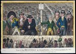 View of the Hustings in Covent Garden, published by Hannah Humphrey in 1806 Poster Art Print by James Gillray