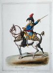 Brigade Major, published by Hannah Humphrey in 1797 Fine Art Print by James Gillray