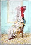 A Portrait of Modern Elegance, published by Hannah Humphrey in 1795 Fine Art Print by James Gillray
