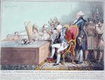 The King of Brobdingnag and Gulliver Wall Art & Canvas Prints by James Gillray
