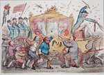 The Republican Attack, published by Hannah Humphrey in 1795 Wall Art & Canvas Prints by James Gillray