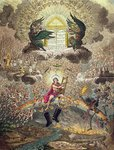 The Apotheosis of Hoche, published by Hannah Humphrey in 1798 Fine Art Print by James Gillray