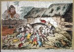 More Pigs than Teats, published by Hannah Humphrey in 1806 Fine Art Print by American School