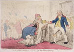 The Presentation, or Wise Men's Offering, published by Hannah Humphrey in 1796 Fine Art Print by James Gillray