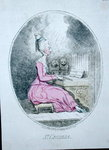 St. Cecilia, published by Hannah Humphrey in 1782 Fine Art Print by James Gillray