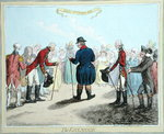 The Esplanade, published by Hannah Humphrey in 1797 Wall Art & Canvas Prints by James Gillray
