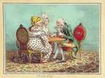 Push-Pin, published by Hannah Humphrey in 1797 Fine Art Print by James Gillray