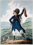 Diana return'd from the Chace, published by Hannah Humphrey in 1802 Fine Art Print by James Gillray