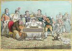 Playing in Parts, etched by James Gillray Poster Art Print by James Gillray