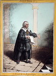 L'Avocat de la Republique, plate 7 from 'French Habits' published by Hannah Humphrey in 1798