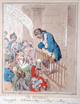 The Hustings, published by Hannah Humphrey in 1796 Fine Art Print by James Gillray