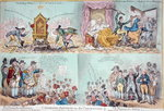 Patriotic Petitions on the Convention, published by Hannah Humphrey Wall Art & Canvas Prints by James Gillray
