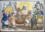 The Triumph of Quassia, published by Hannah Humphrey in 1806 Fine Art Print by James Gillray